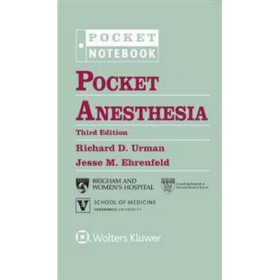 Pocket Anesthesia (Spiral, 2016)