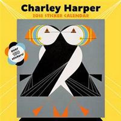 Charley Harper 2018 Sticker Calendar (Övrigt format, 2017)