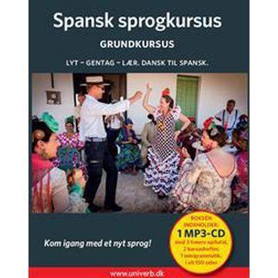 Spansk sprogkursus. Grundkursus (Ljudbok MP3 CD, 2016)