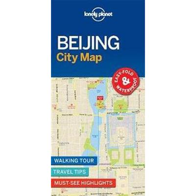 Lonely Planet Beijing City Map (Pocket, 2017)