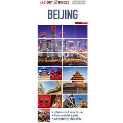 Insight Flexi Map Beijing (Övrigt format, 2017)