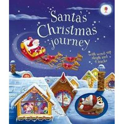 Santa's Christmas Journey with Wind-Up Sleigh (Board book, 2016)