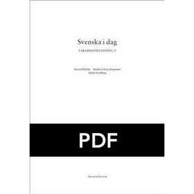 Svenska i dag 8 Lärarhandledning kopieringsunderlag pdf (Övrigt format, 2010)