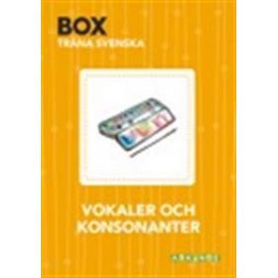 Box - Vokaler och konsonanter (Häftad, 2017)