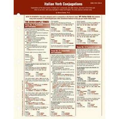 Italian Verb Conjugation Card (Övrigt format, 2004)