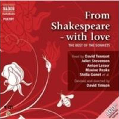 From Shakespeare with Love: The Best of the Sonnets (Ljudbok CD, 2009)