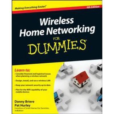Wireless Home Networking for Dummies (Häftad, 2010)