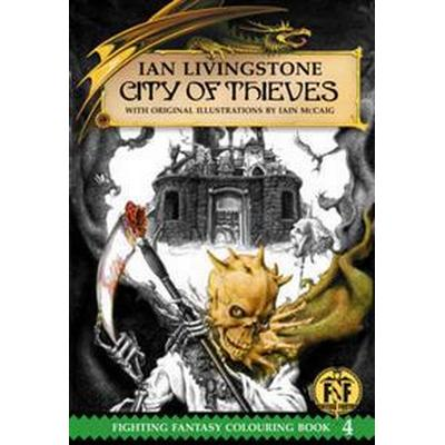 Official Fighting Fantasy Colouring Book 4: City of Thieves (Häftad, 2016)