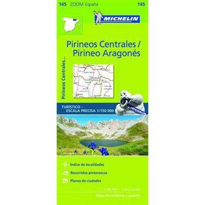 Pirineos Centrales Zoom Map 145 (Karta, Falsad., 2017)