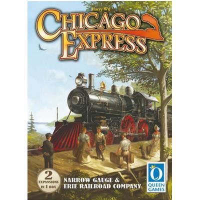 Queen Games Chicago Express: Narrow Gauge & Erie Railroad Company
