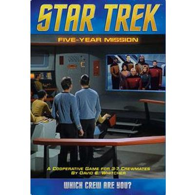 Mayfair Games Star Trek: Five Year Mission