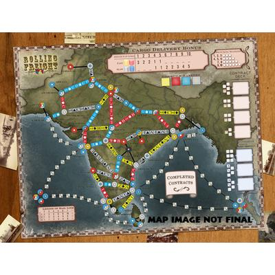Ape Games Rolling Freight: Great Britain & India
