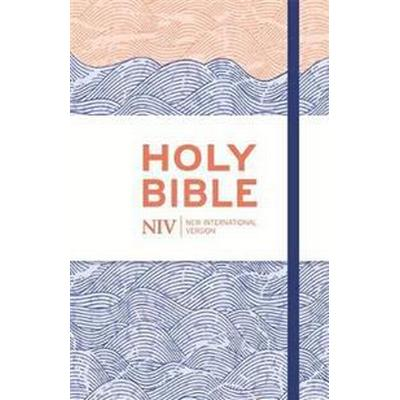 NIV Thinline Blue Waves Cloth Bible (Inbunden, 2015)
