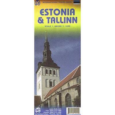 Tallinn & Estonia Travel Map (Pocket, 2011)