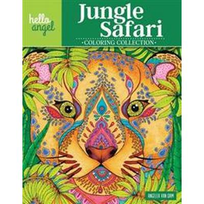 Hello Angel Jungle Safari Coloring Collection (Häftad, 2017)
