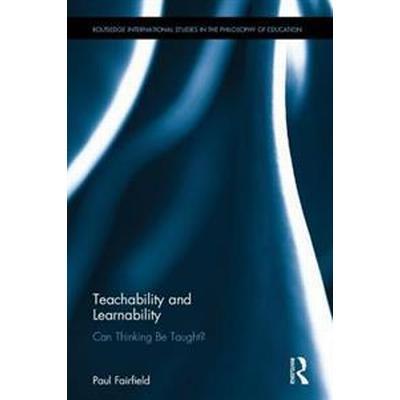 Teachability and Learnability (Inbunden, 2016)