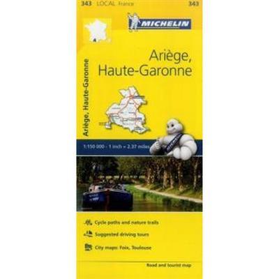 Michelin France Ariège, Haute-Garonne (Pocket, 2016)