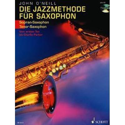 Jazz Method for Soprano/Tenor Sax Book/CD: (German) (Häftad, 1995)