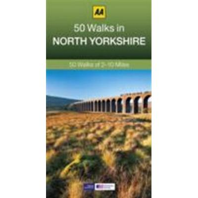 50 Walks in North Yorkshire (Häftad, 2014)