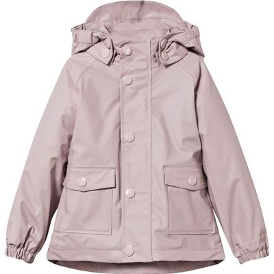 Mini A Ture Julien Lining Raincoat - Violet Ice (1166066730432)