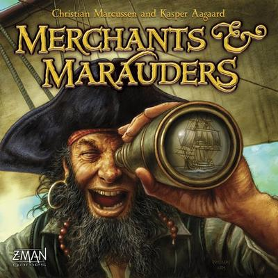 Z-Man Games Merchants & Marauders (Engelska)