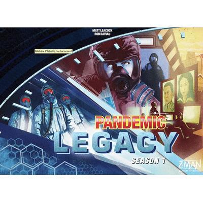 Pandemic Legacy Season 1 Blue (Engelska)