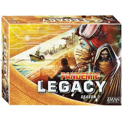 Pandemic Legacy: Season 2 Yellow (Engelska)