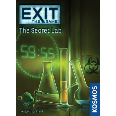 Exit: The Game The Secret Lab (Engelska)