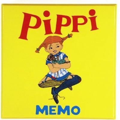 Hjelm Förlag Pippi Memo (Engelska)