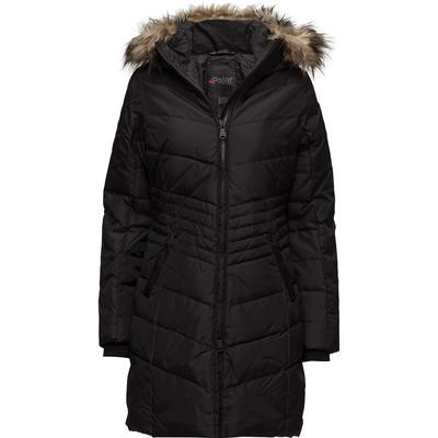 Pajar Brooklyn Ladies Faux Fur Parka BLACK