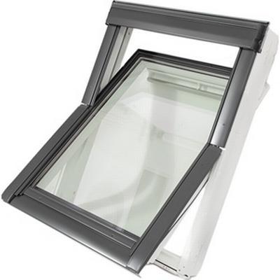 velux mk08 ggu 0066 aluminium ovenlysvindue 78x140cm. Black Bedroom Furniture Sets. Home Design Ideas