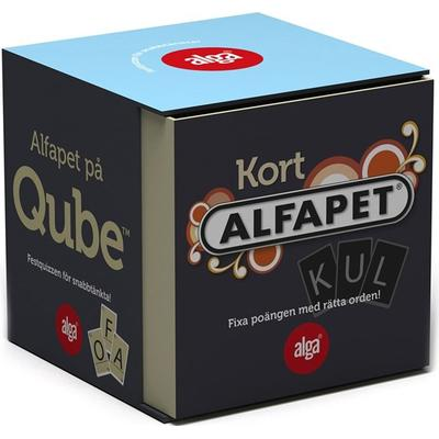 Alga Kort Alfapet Qube (Svenska)
