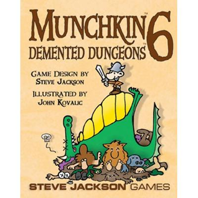 Munchkin 6: Demented Dungeons (Engelska)