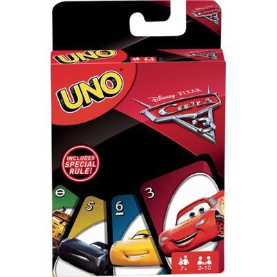 Mattel UNO Disney Pixar Cars 3 FDJ15