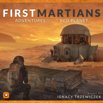 Portal Games First Martians: Adventures on the Red Planet (Engelska)