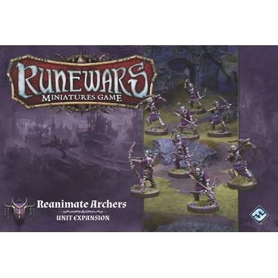 Fantasy Flight Games Runewars Miniatures Game: Reanimate Archers Unit Expansion