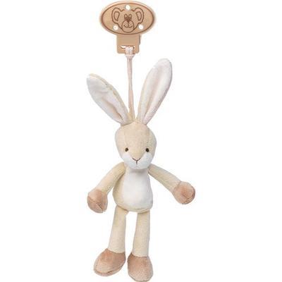 Teddykompaniet Diinglisar Mjuk Hängande Kanin med Klämma