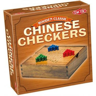 Tactic Wooden Classic Chinese Checkers