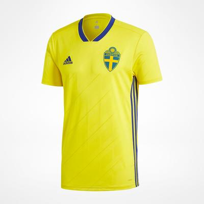 Adidas Sweden World Cup Home Jersey 18/19 Sr