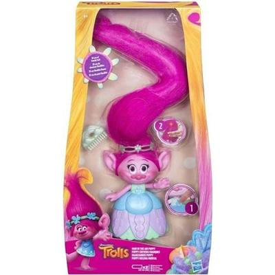 Hasbro Dreamworks Trolls Hair in the Air Poppy C1305