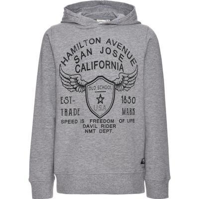 Name It Nitwings Brushed Sweatshirt - Grey/Grey Melange (13146472)