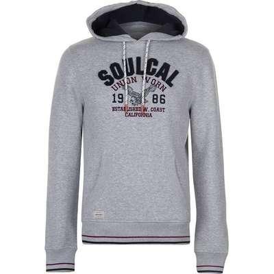 SoulCal USA Hoodie Grey Marl (53230425)