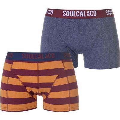 SoulCal Trunk Boxers 2-pack Denim/Stripe (42221590)