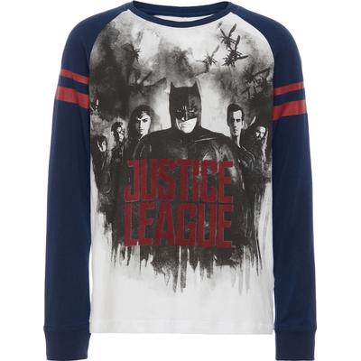 Name It Batman Printed Long Sleeved Top - Blue/Dress Blues (13147471)