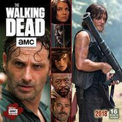 The AMC Walking Dead 2018 Wall Calendar (Övrigt format, 2017)