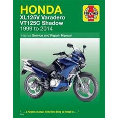Honda xl125v varadero & vt125c shadow service and repair manual 1999-2014 (Pocket, 2016)