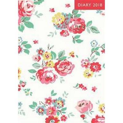 A6 2018 Diary - Wells Rose (Inbunden, 2017)