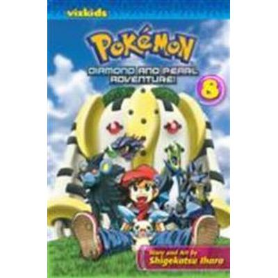 Pokemon Diamond and Pearl Adventure! 8 (Pocket, 2010)