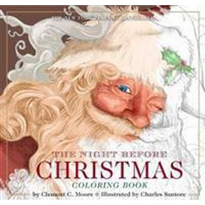 The Night Before Christmas or, A Visit from St. Nicholas Coloring Book (Pocket, 2017)
