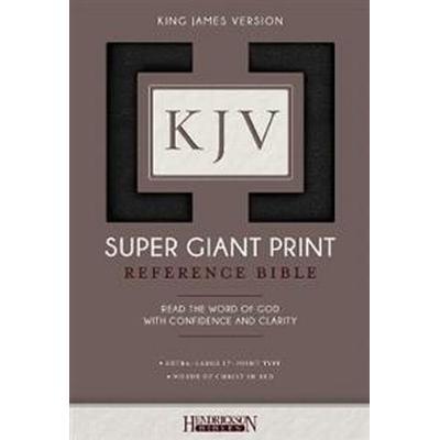 KJV Super Giant Print Bible (Inbunden, 2017)